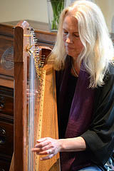 Allison Hampton on Celtic Harp